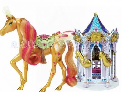 Набор Пони Рояль: карусель и королевская лошадь Брук Pony Royal
