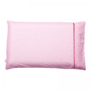 Наволочка детская ClevaMama ClevaFoam, цвет: розовый