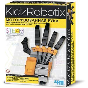 Набор для робототехники  KidxRobotix Моторизированная рука 4M