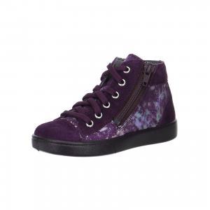Ботинки  для девочки Superfit. Цвет: лиловый