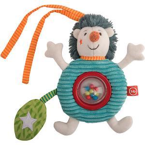Подвеска-погремушка с колокольчиком  Ёжик Федя Happy Baby. Цвет: разноцветный