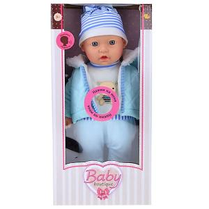 Кукла ABtoys Baby boutique, 40 см, озвученная Dimian