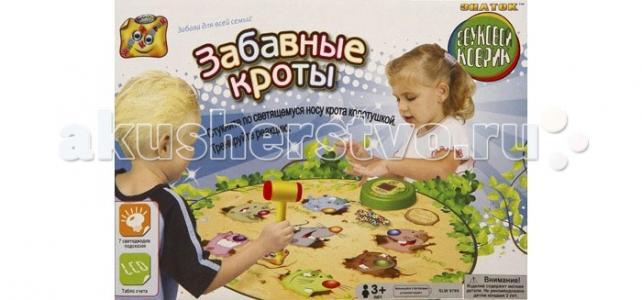 Игровой коврик  Забавные кроты Знаток