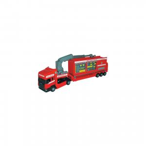 Машинка Scania база на платформе, пожарная  1:48, Autotime