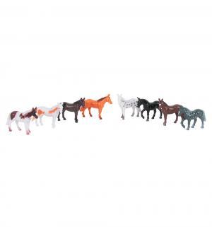 Игровой набор  Диалоги о животных Лошади 8 шт см Играем Вместе