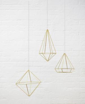 Декор для стен из 6-ти элементов Prisma Umbra
