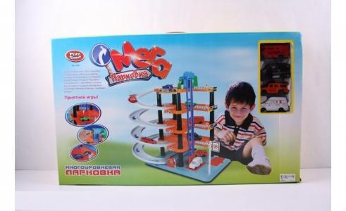 Парковка многоуровневая JB0403772 Play Smart