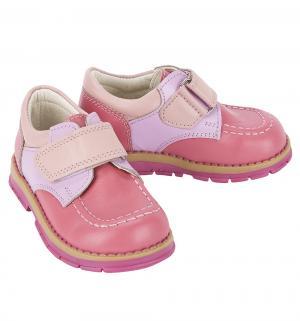 Полуботинки , цвет: розовый Таши Орто