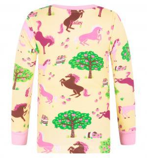 Пижама джемпер/брюки , цвет: бежевый Hatley