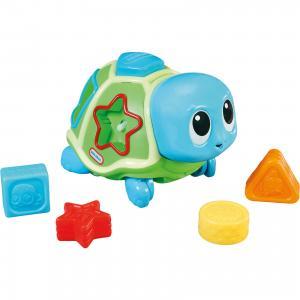 Развивающая игрушка Ползающая черепаха-сортер, со звуком, Little Tikes