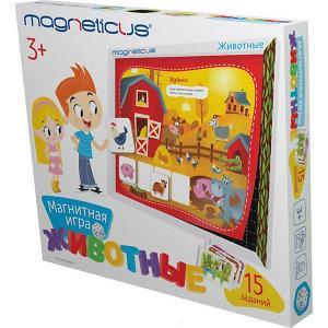 Магнитный игровой набор  Животные, в картонной коробке Magneticus