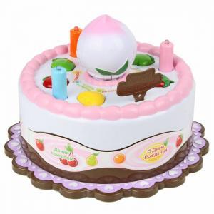 Интерактивная игрушка  Игра развивающая Торт cо светом, звуком Veld CO
