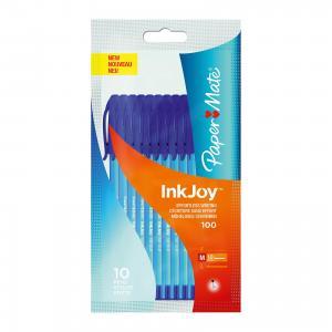 Ручка шариковая  Inkjoy 10 шт., синяя Paper mate