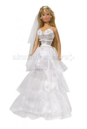 Кукла Штеффи в свадебном наряде Simba
