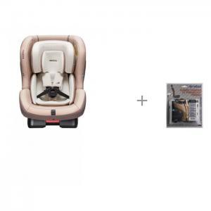 Автокресло  First 7 Plus Organic с защитой спинки сиденья АвтоБра Daiichi