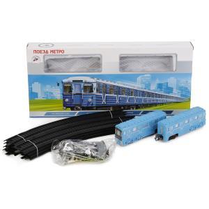 Железная дорога  «Метро» со светом и звуком Играем Вместе