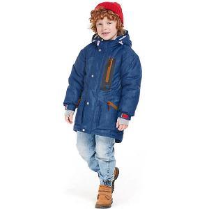 Утеплённая куртка Oldos Дилан. Цвет: синий