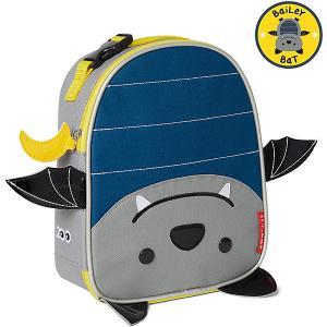 Сумочка для ланч-бокса  Летучая мышь Skip Hop. Цвет: сине-серый