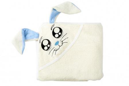 Полотенце с капюшоном Fun Dry Зайка TwinklBaby