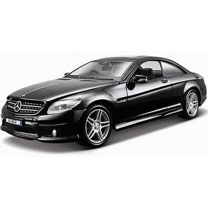 Машинка  Mercedes Benz CL63 AMG, 1:24 Maisto. Цвет: серебряный