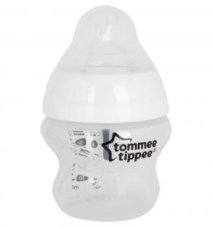 Бутылочка  Closer to Nature Anti-Colic Plus полипропилен с рождения, 150 мл, цвет: прозрачный Tommee Tippee