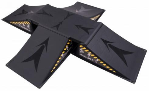 Трамплин Skater ramp set 5 частей Hudora