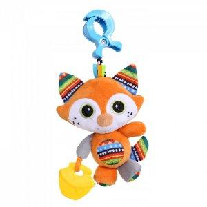 Подвесная игрушка  на прищепке Лисенок Фрэнк 27x13 см Biba Toys