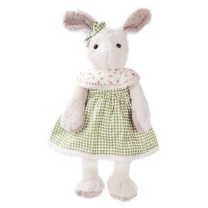 Мягкая игрушка  Зайка Мэри в зеленом, 23 см Angel Collection