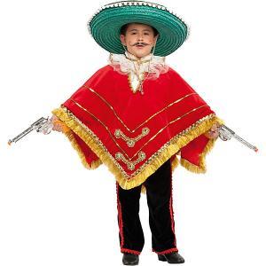 Карнавальный костюм  Мексиканский бандит для мальчика Veneziano. Цвет: разноцветный