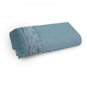 Полотенце махровое 70*140 Белладжио, , голубой Cozy Home