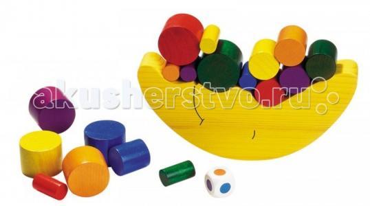 Деревянная игрушка  Игра Нагрузи луну Goki