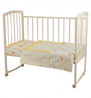 Комплект постельного белья  Ника, цвет: бежевый 3 предмета наволочка (40 х 60 см) Perina