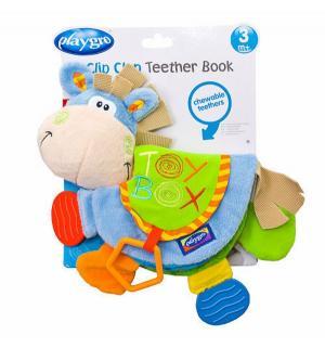 Книжка-игрушка  Мягкая ослик 0.6+ Playgro