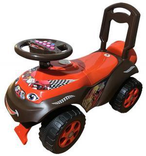 Машинка  Автошка, цвет: коричневый/красный Doloni