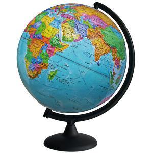Глобус Земли политический рельефный Глобусный Мир