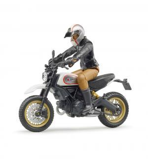 Мотоцикл  с фигуркой мотоциклиста 1 : 16 Bruder