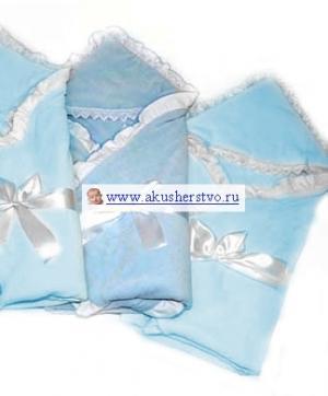 Одеяло на выписку Малютка велюр Bombus