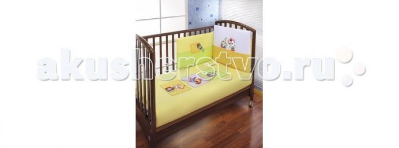 Комплект в кроватку  Puppet Sestetto Long (6 предметов) Feretti