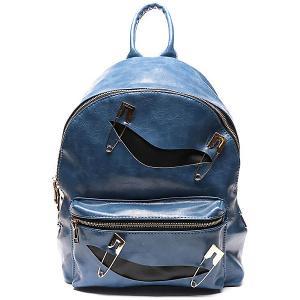 Рюкзак  29х34х13 см Vitacci. Цвет: голубой