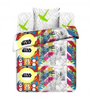 Комплект постельного белья  Светлая сторона, цвет: белый Василек
