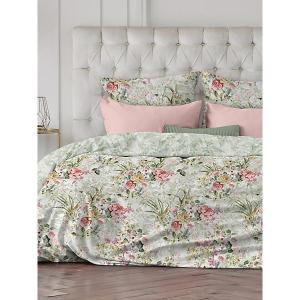 Комплект постельного белья  Charmant, 2-спальное Романтика. Цвет: светло-зеленый