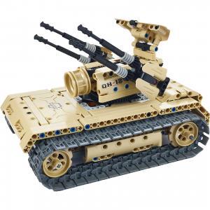 Конструктор электромеханический Anti-aircraft tank, 457 деталей, QiHui
