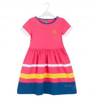 Платье , цвет: малиновый Umka
