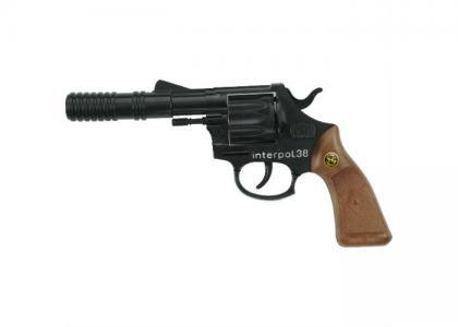 Игрушечное оружие Пистолет Interpol38 Schrodel