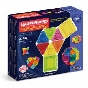 Конструктор  Магнитный Window Basic 30 set Magformers