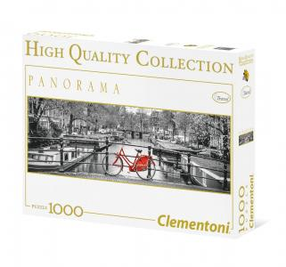 Пазл  Панорама. Амстердамский велосипед 1000 элементов Clementoni