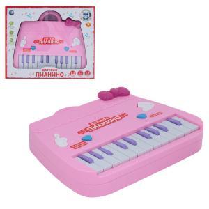 Музыкальный инструмент  Пианино розовое Tongde