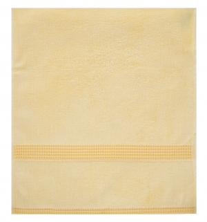 Полотенце Дуэт , цвет: желтый bq
