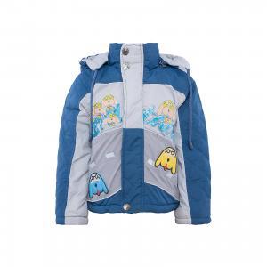 Куртка для мальчика DAUBER. Цвет: серый
