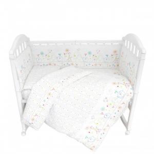 Комплект в кроватку  Саванна 9 предметов Baby Nice (ОТК)